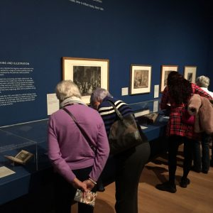 Visit to William Blake Exhibition, Tate Britain on 14 January 2020