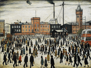 Lowry Exhibition at Tate Britain - Tuesday 24th September 2013