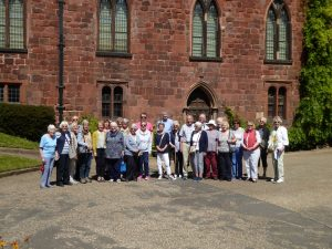 Photos of Tour to Shropshire and the Potteries 14 - 18 May 2019