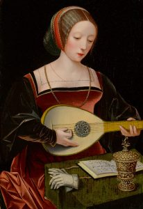 The Queen of Instruments: The Lute within Old Masters - Thursday 3rd September 2020 - On-Line Lecture